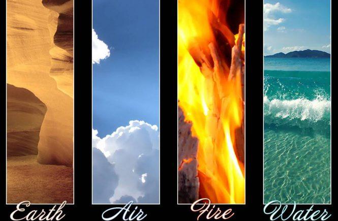 signos del zodíaco y los elementos